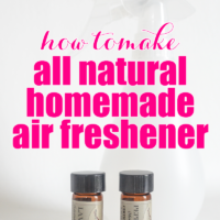 All Natural Homemade Air Freshener Spray – A party for your