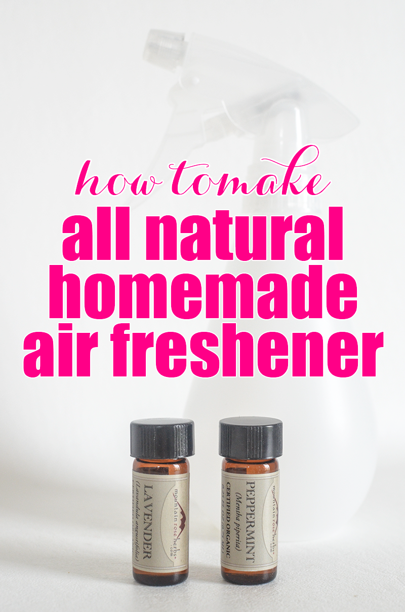 all natural homemade air freshener spray