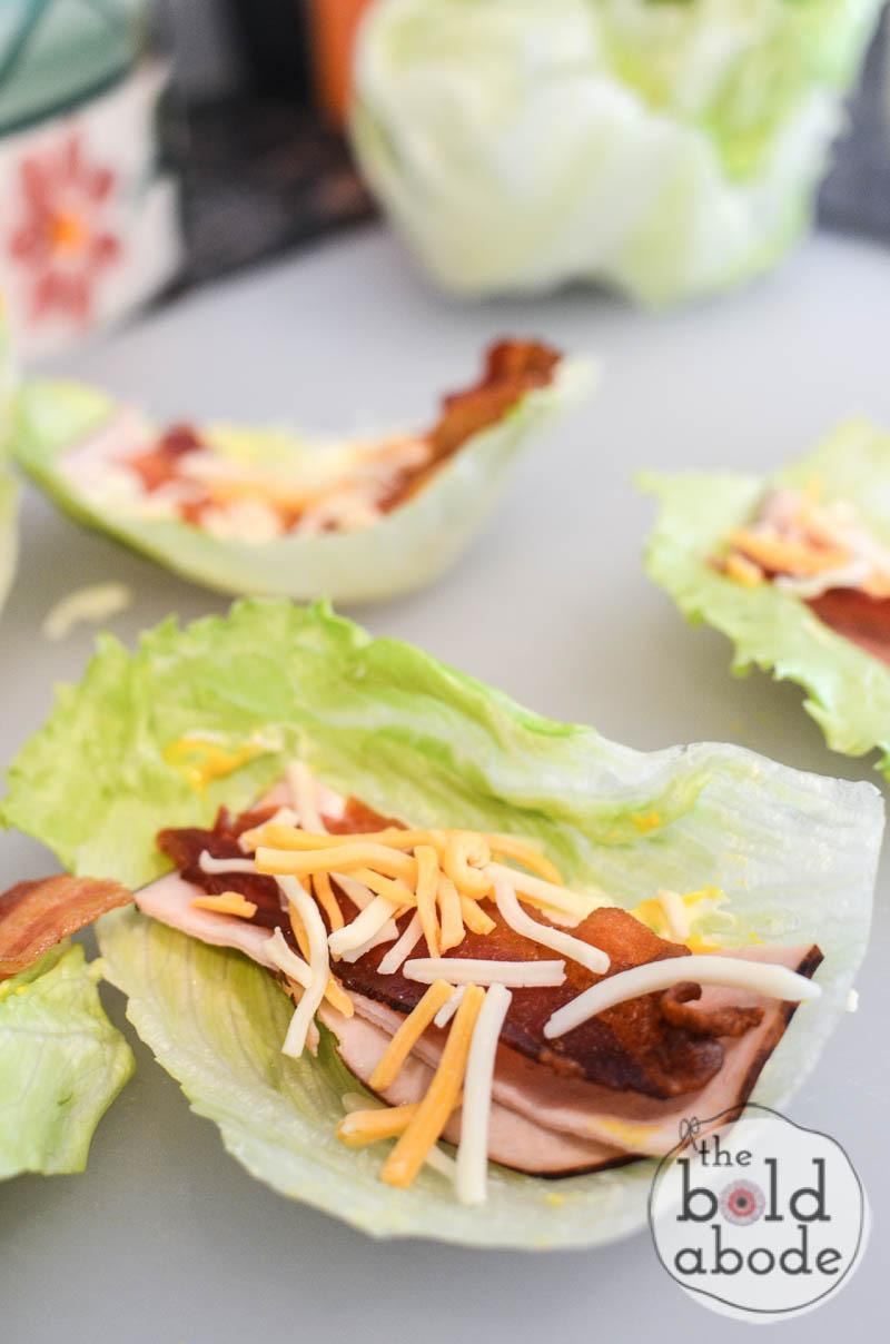 turkey and bacon lettuce wraps-5