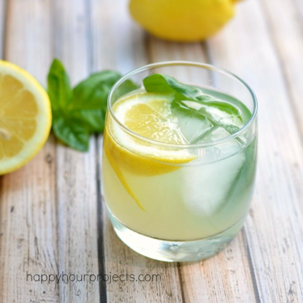 basil mint gimlet happy hour projects