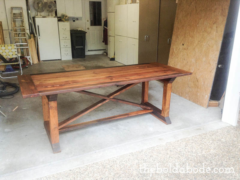 Simple Diy Farmhouse Table With Tips From Grandy With Farmhouse Tables.