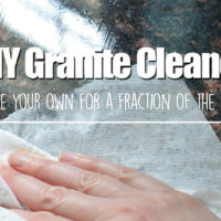 DIY Granite Cleaner – the all natural and cheap way to clea