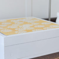DIY Memory Box with Command Brand Damage-Free Wall Tiles