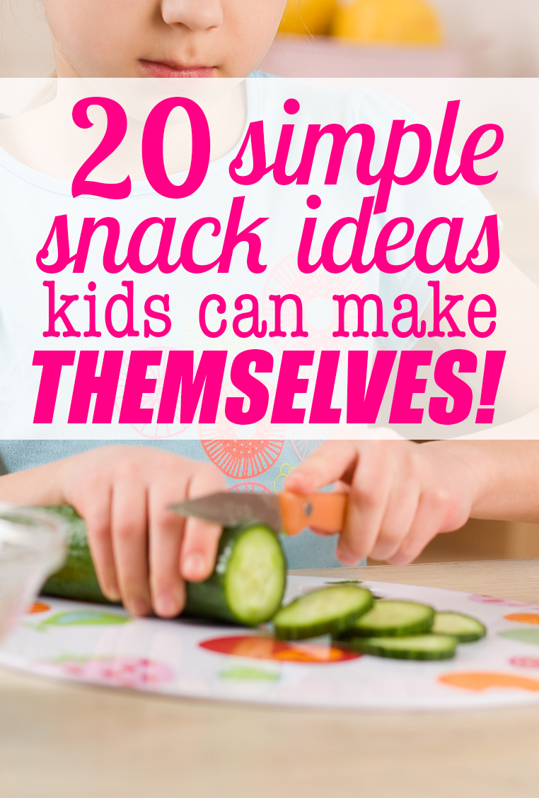 20 ridiculously simple after school snack ideas for Easy after school snacks for kids to make