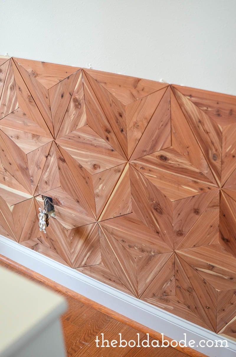 geometric cedar planked wall-9