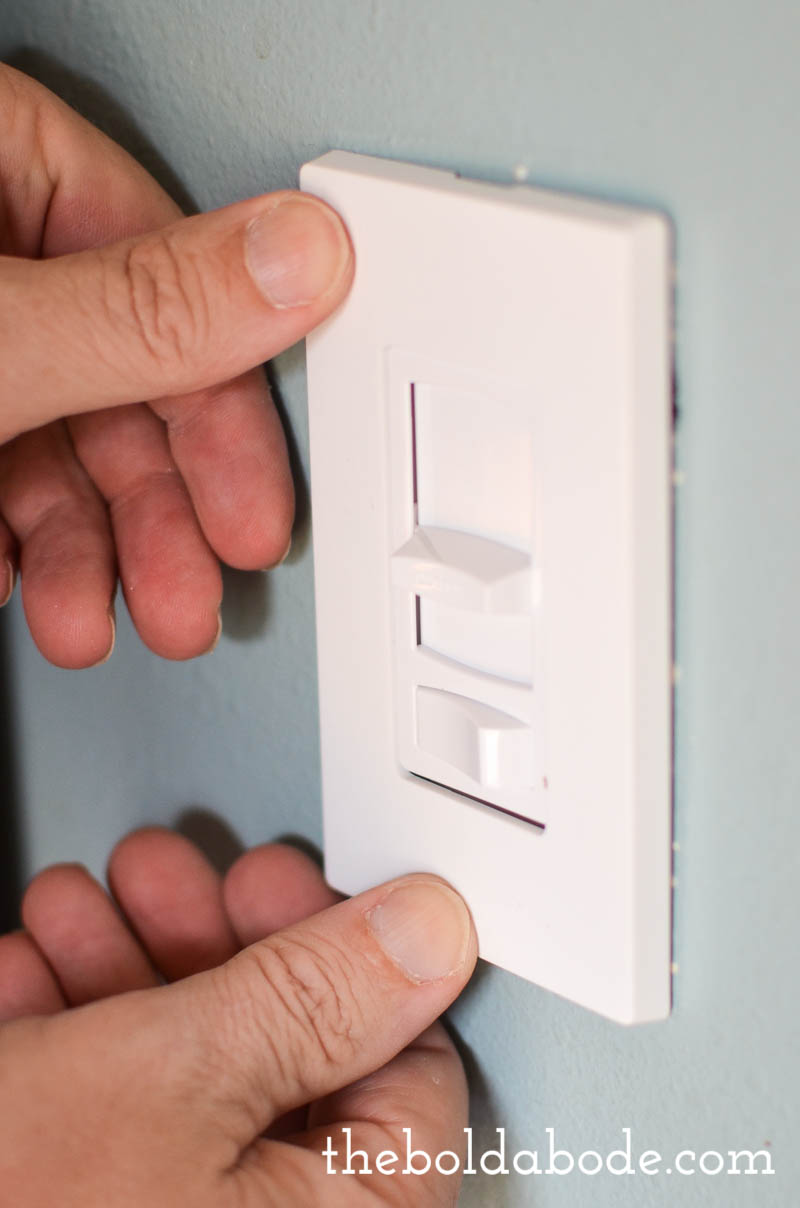 How to replace a dimmer switch - How To Install A Dimmer Switch 6