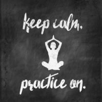 Keep Calm, Practice On.  – another BOLD Printable