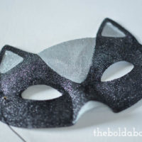 Sparkly Cat Mask