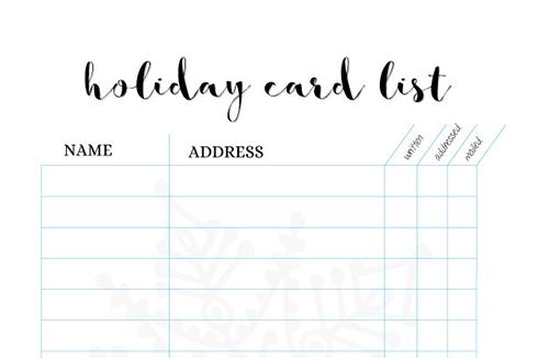 holiday-card-list