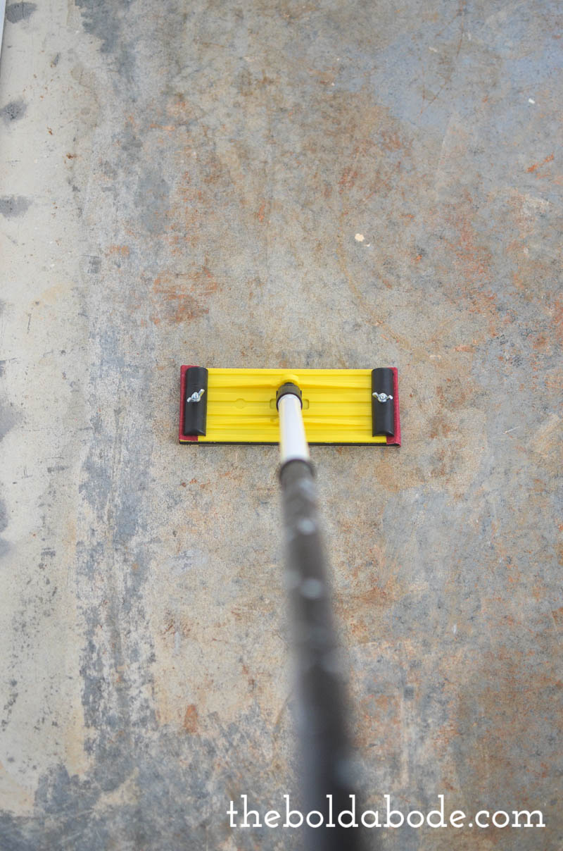 Diy How To Prep A Concrete Slab Floor For Painting
