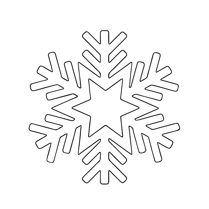 It's just a photo of Simplicity Snowflake Patterns Printable