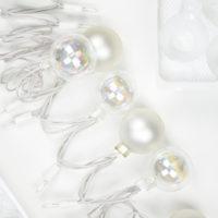 DIY Ornament String Lights