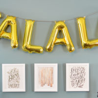 FALALA Banner and Winter Art from Minted