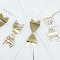 Mini Bow Ornaments