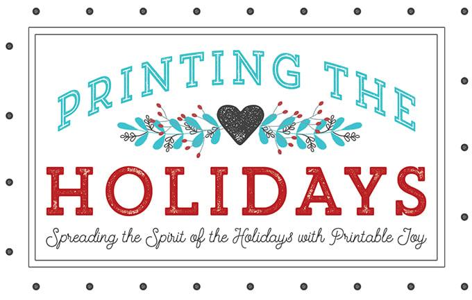 printing the holidays