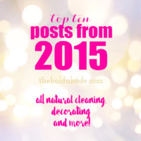The Top Ten Posts of 2015