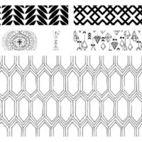 5 Amazing Black and White Wallpaper Designs that put me in a Wall