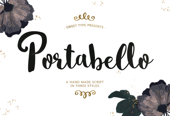Beautiful hand lettered fonts from the amazing font designer