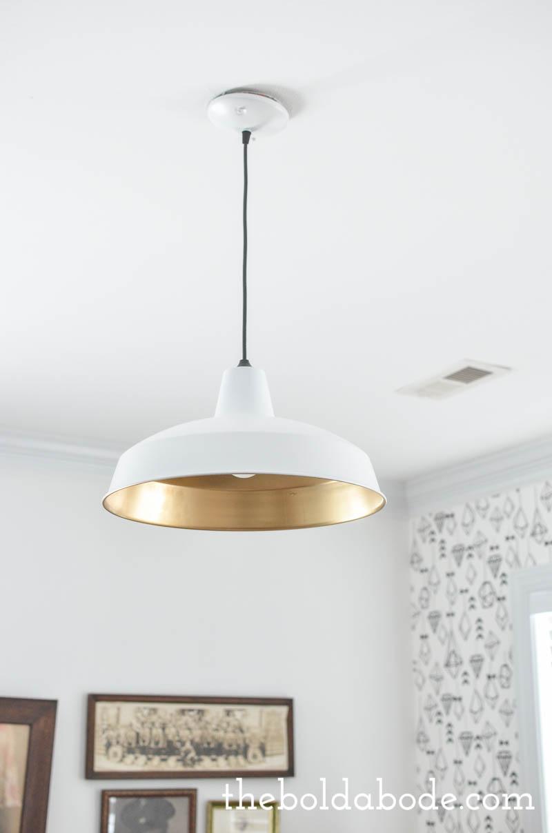 glam up a metal barn light-5