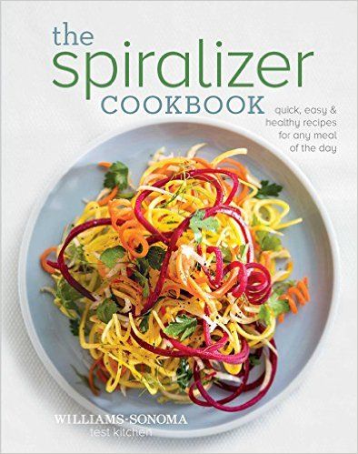 The Spiralizer Cookbook - quick, easy & healthy recipes for any meal of the day.