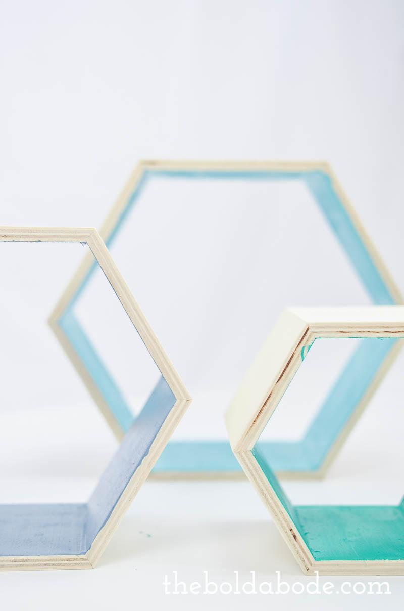 color pop hexagon shelves-6