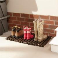 Announcing the Home Depot DIY Virtual Party! DIY Wooden Doormat