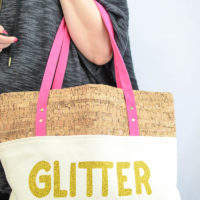 GLITTER IS MY JAM Tote Bag