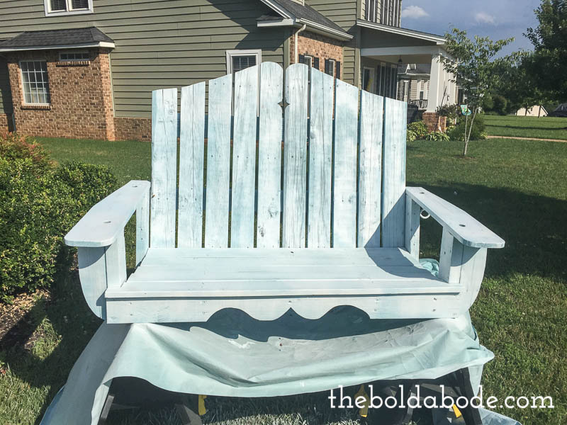 how to paint a porch swing-2