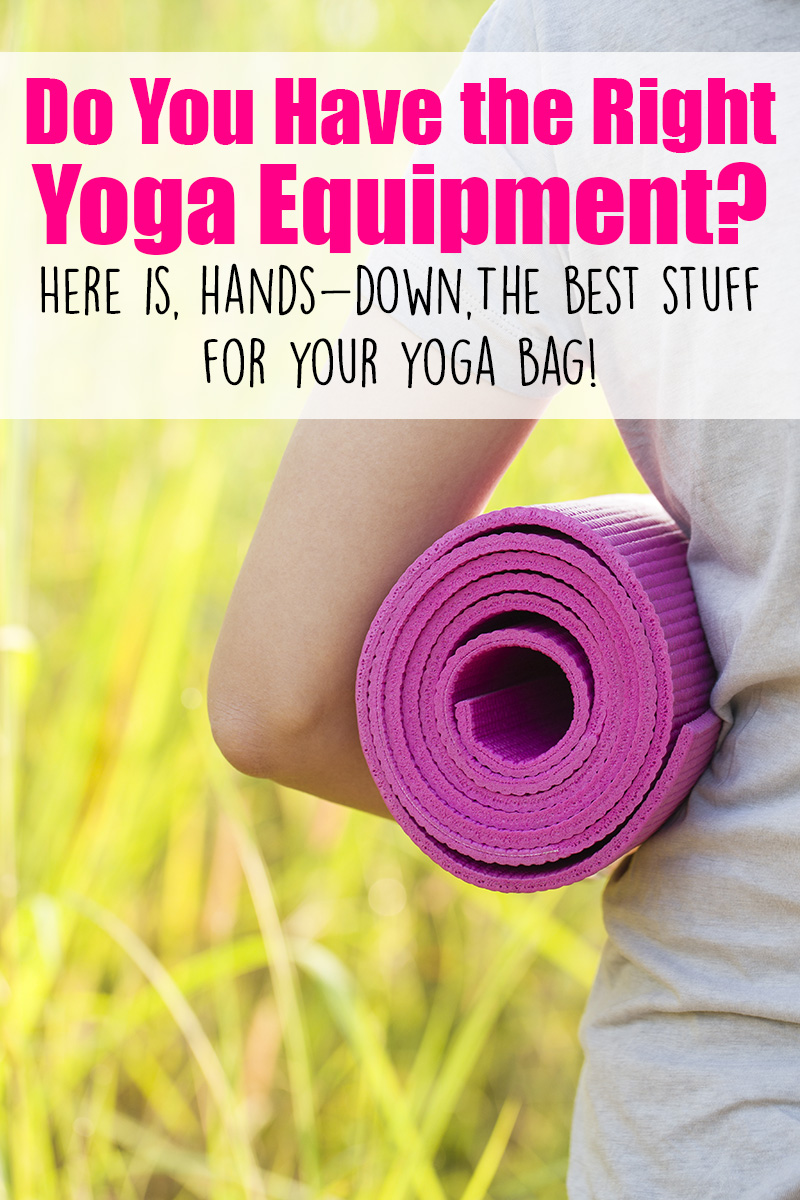 Do you have the best yoga equipment? Here is, hand-down, The Best Stuff for your Yoga Bag! It's hard to know what to buy... here's my guide! You can't go wrong with these recommendations.