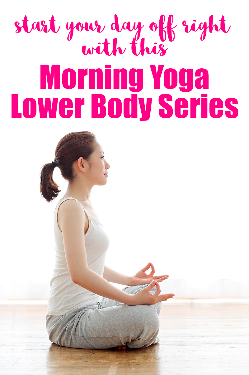 Do you have morning back aches? This morning yoga lower body series is perfect for your wake up routine. It carefully stretches out your back and legs to help revitalize you first thing!