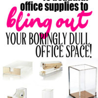15 Beautiful Office Supplies to Bling Out Your Boringly Dull Work