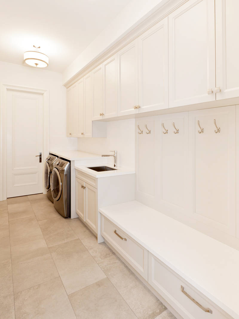 How to Deal with a TINY Laundry Room. Real, down to earth tips on how to make due with a tiny laundry room from a real tiny laundry room owner.