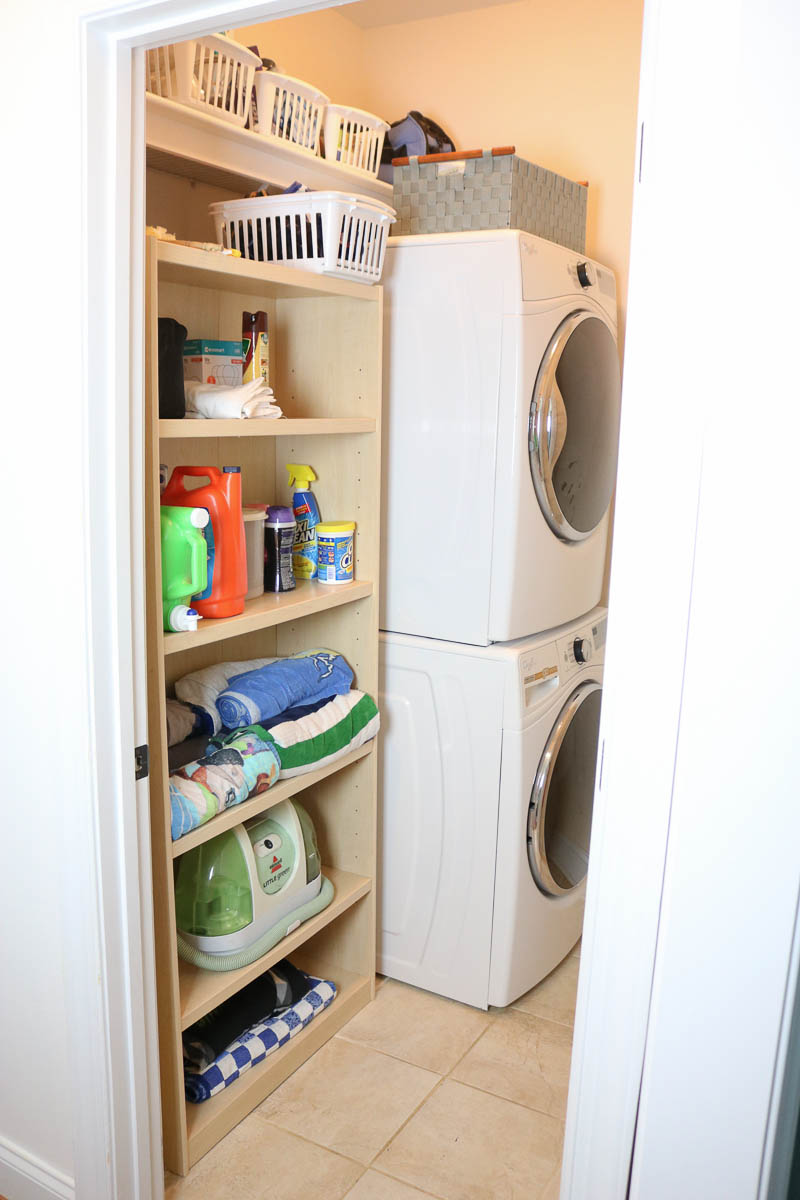 How To Deal With A Tiny Laundry Room Real Down To Earth Tips On
