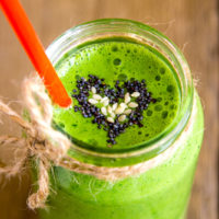 Spicy Green Detox Juice for Summer