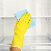 How to Clean the Refrigerator – Self Cleaning Home Part 7!