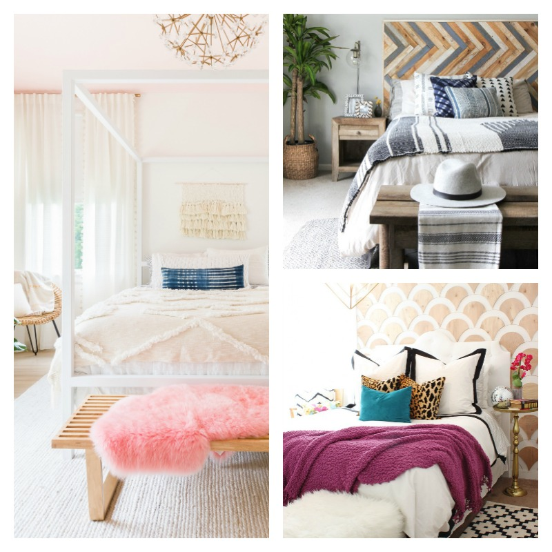 Beautiful Bedrooms: 5 Beautiful Bedrooms On A Budget! Budget Decorating Ideas