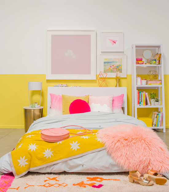5 Beautiful Bedrooms on a Budget! Budget decorating ideas for bedrooms.