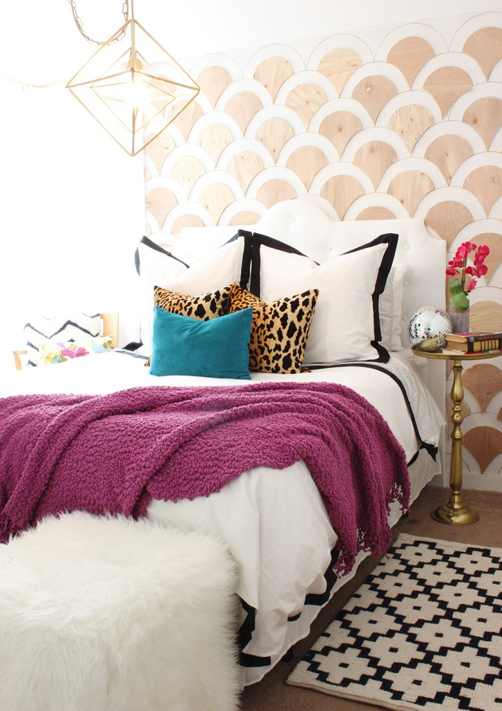 Beautiful bedroom from Classy clutter