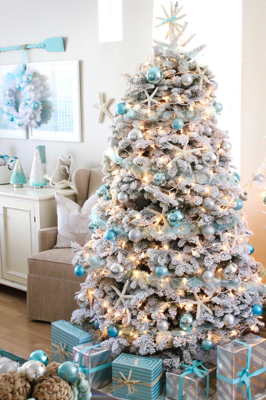 White Christmas Tree Decorating Ideas.8 Beautifully Decorated White Christmas Trees