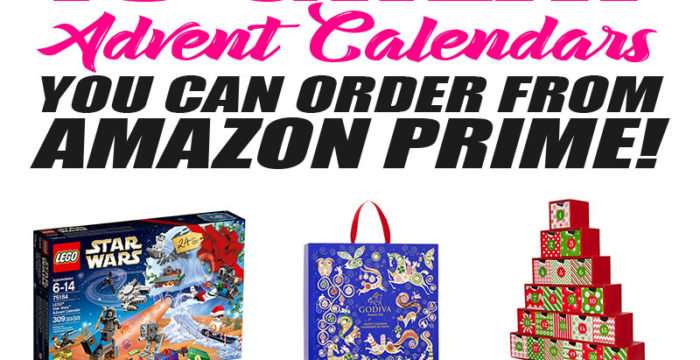 10 Advent Calendars You Can Order from Amazon Prime!