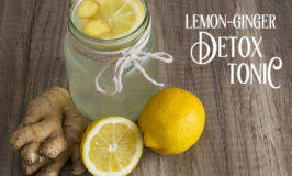 "This is my (and the hordes of humanity's) most favorite time of the year, but with all the rich, delectable foods around, it can get sickeningly overwhelming. After eating all the turkey and all the dressing and all the pie, your body can feel like you swallowed a big, lead balloon. That's why I'm sharing this Lemon Ginger Detox Tonic. This tonic has literally changed my life. And I'm not being ""internet literal"" where I'm exaggerating how awesome something is so you'll click on it. I'm drop, dead, diva serious. #detox #lemon #ginger #detoxtonic #detoxwater #detoxcleanse"