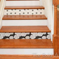 Wallpaper Stairs Update for Staging The Bold Abode