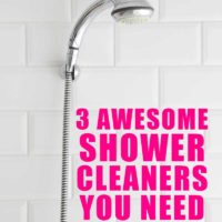 3 Awesome Shower Cleaners You Need to Try