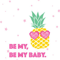 Be My, Be My Baby Printable