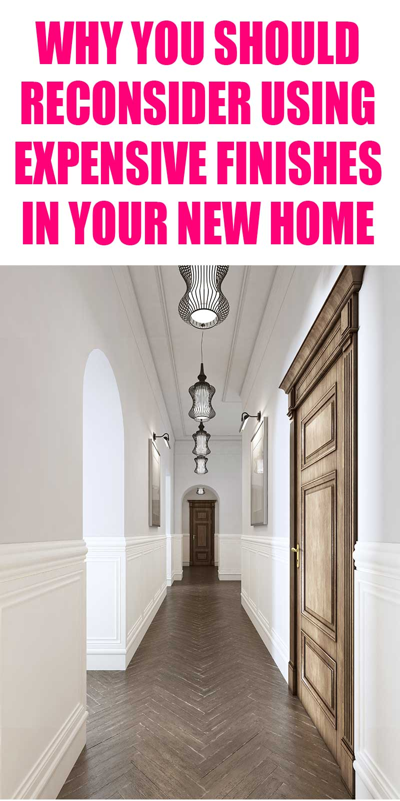 Beautiful home with herringbone wood floors