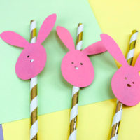 Easter Bunny Straws