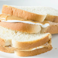 Fluffernutter and other Peanut Butter sandwich Ideas!