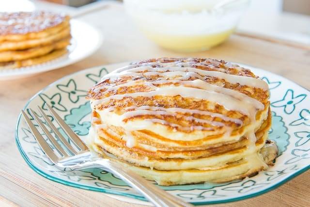 Cinnamon Roll Pancakes - Fun and Easy Brunch Recipe
