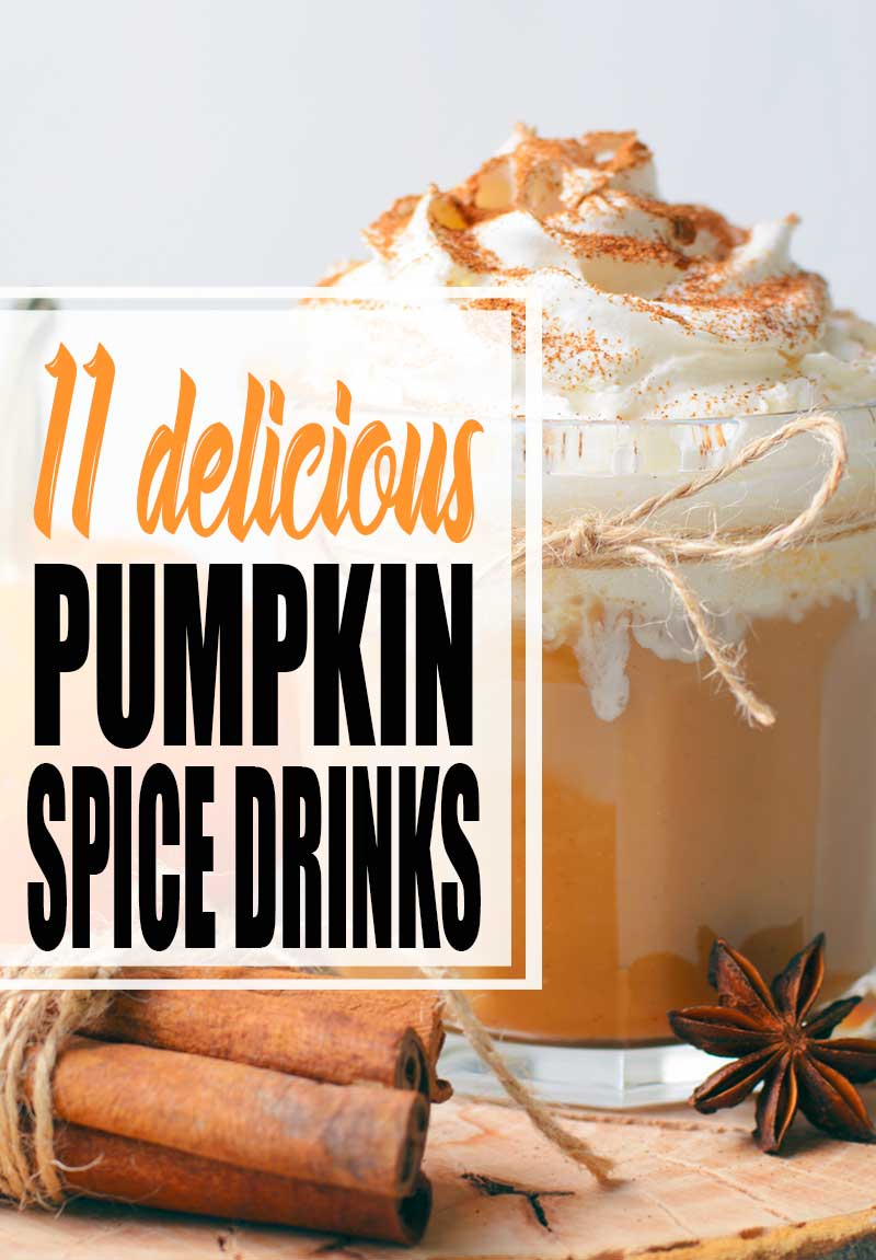 pumpkin spice drink with whipped cream