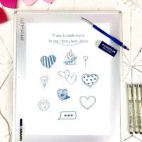 10 Easy Heart Doodles for February